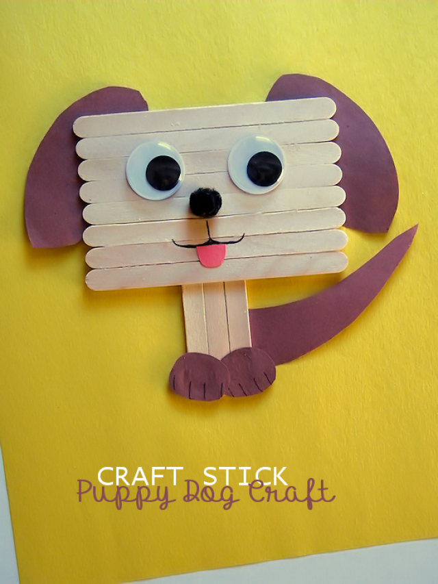 Make One Of These 11 Dog Themed Kid Crafts Today Pets Badge Ideas
