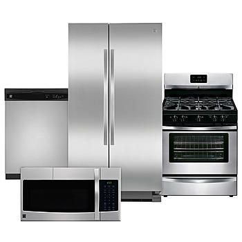4 Piece Kitchen Package - Stainless Steel - Good | For the Home ...