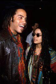 Former spouses Lenny Kravitz and Lisa Bonet