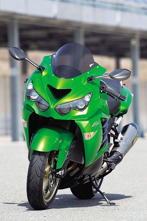 Kawasaki ZZR 1400 by Active | cars... | Pinterest | Kawasaki ninja ...