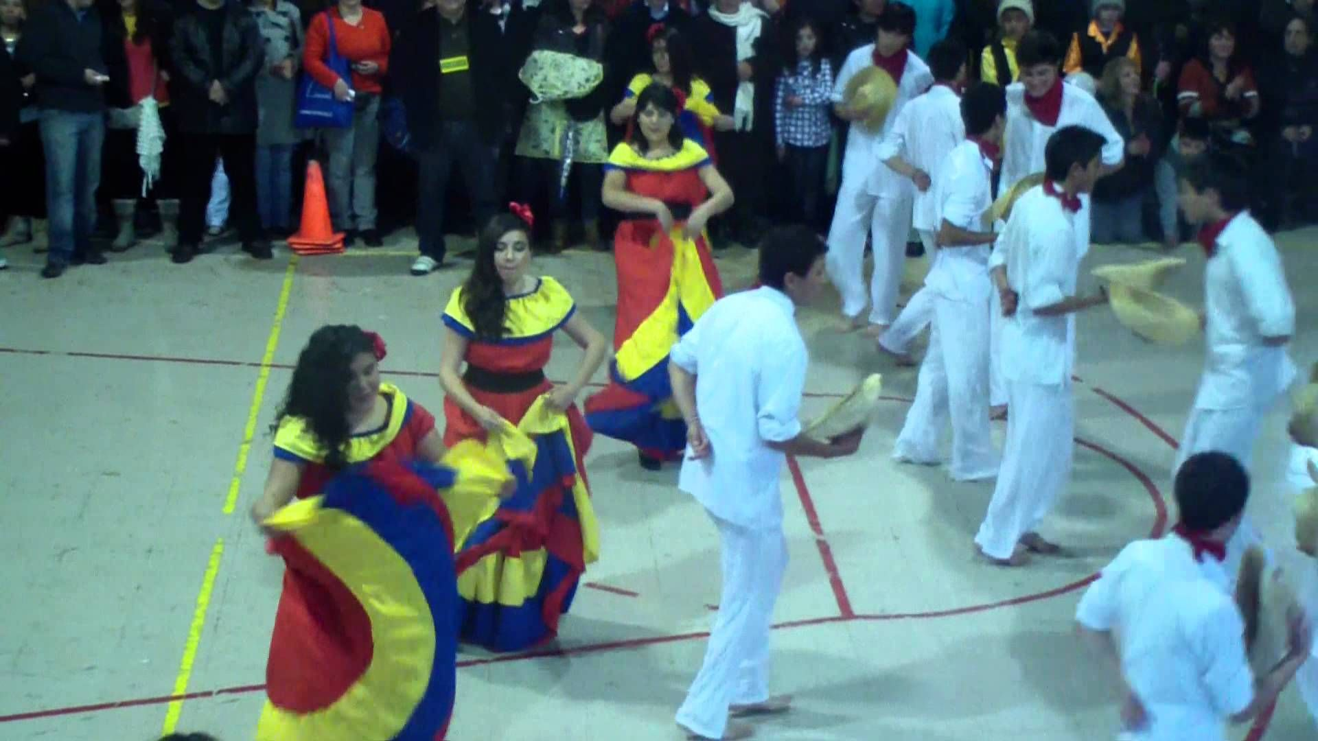 baile cumbia colombiana Cumbia, Baile
