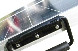 120W Portable Folding Solar Panel by Eco-Worthy: Solar Panel Suitcase with Charge Controller