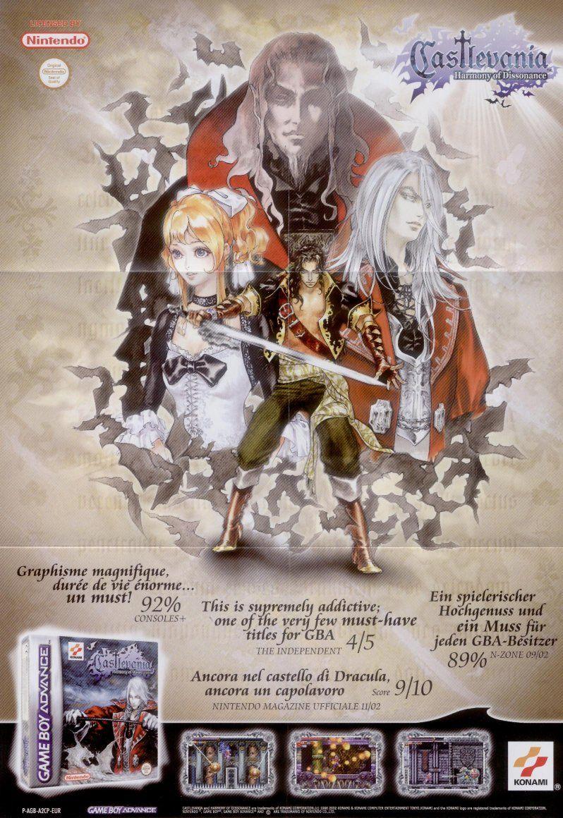 Castlevania Aria Of Sorrow Game Art Art Video Game Art