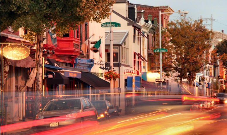 Main Street In Manayunk Late Night Food Mug Shots Planet Fitness Workout