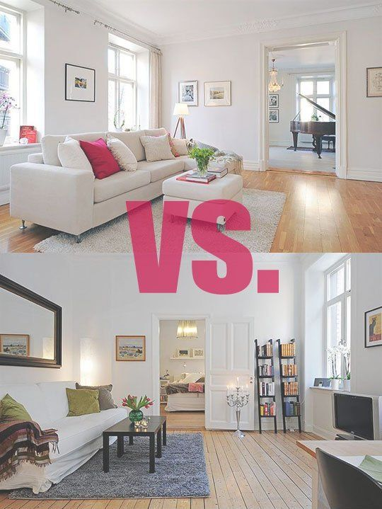 Living Room Design Duel Which Layout Do You Prefer