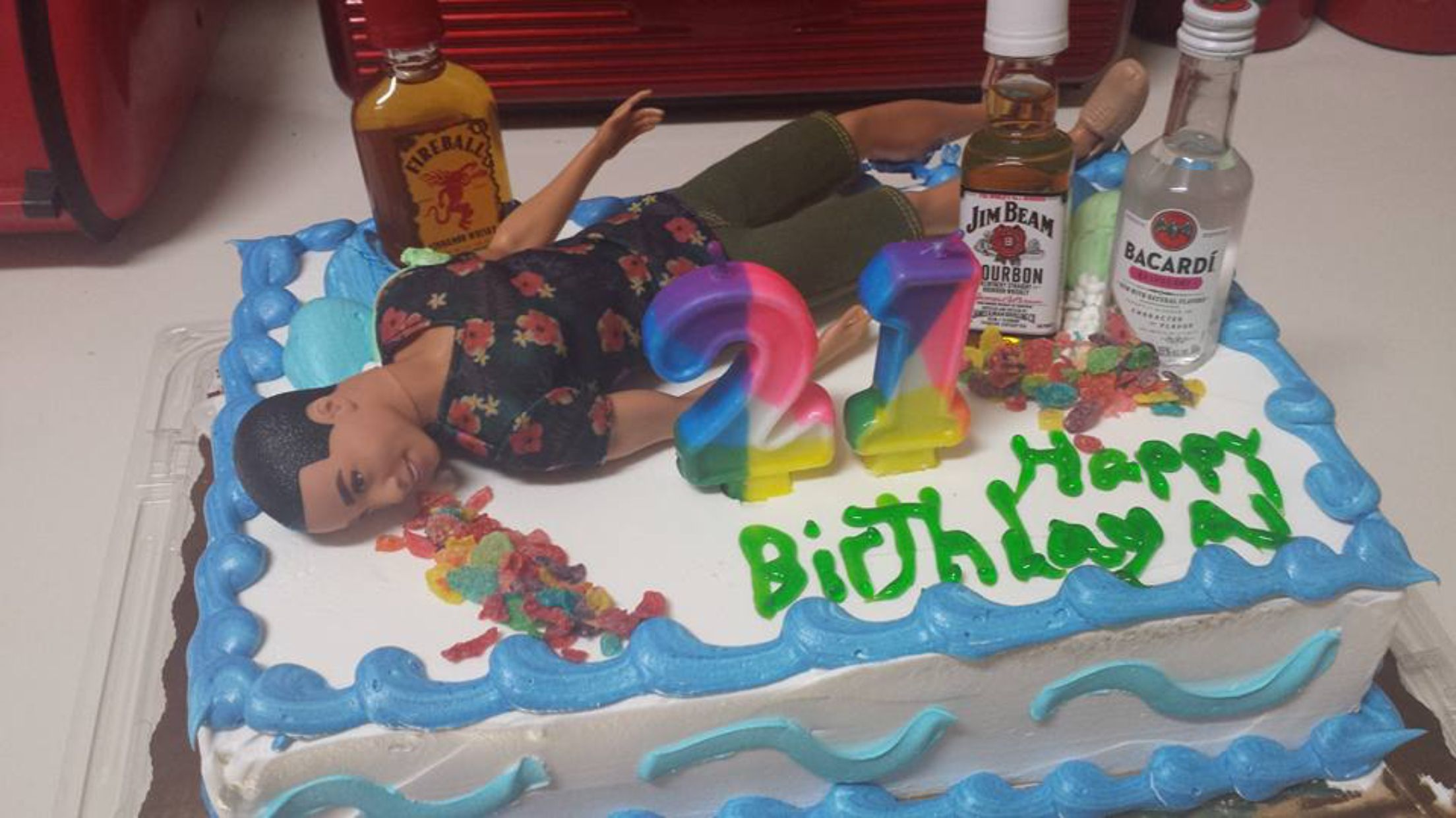 Guys 21st Birthday Cake