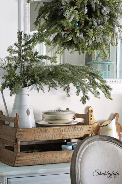 French Country Rustic Elegant Christmas