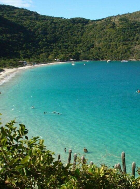 Praia Do Forno Arraial Do Cabo Rio De Janeiro Brazil