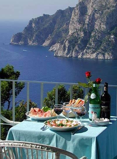 Terrazza Brunella Capri Beautiful Places Italy Capri Island