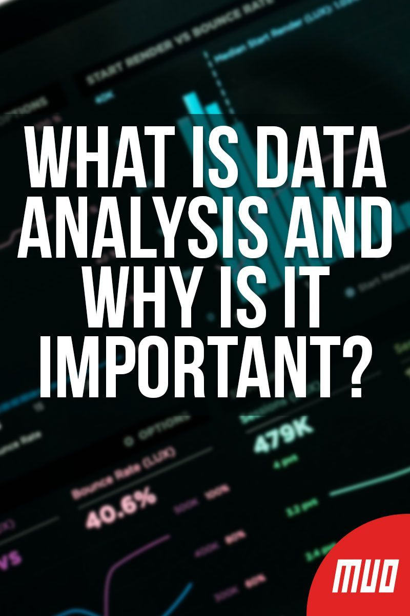 What Is Data Analysis And Why Is It Important What Is Data