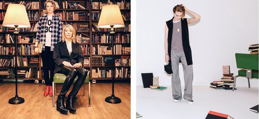 O estilo tomboy da loja Wildfang. Estrelando Evan Rachel Wood, Kim Gordon e Betty Ditto!