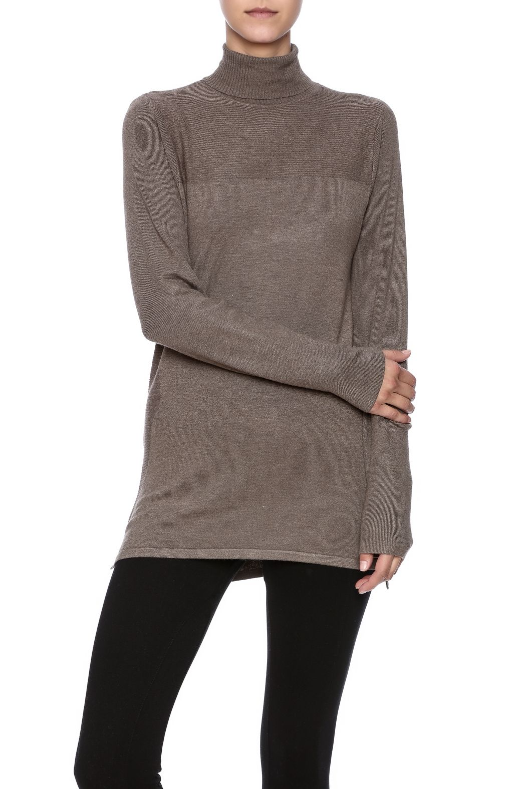 Renuar Turtleneck Sweater | Shoulder and Boutique