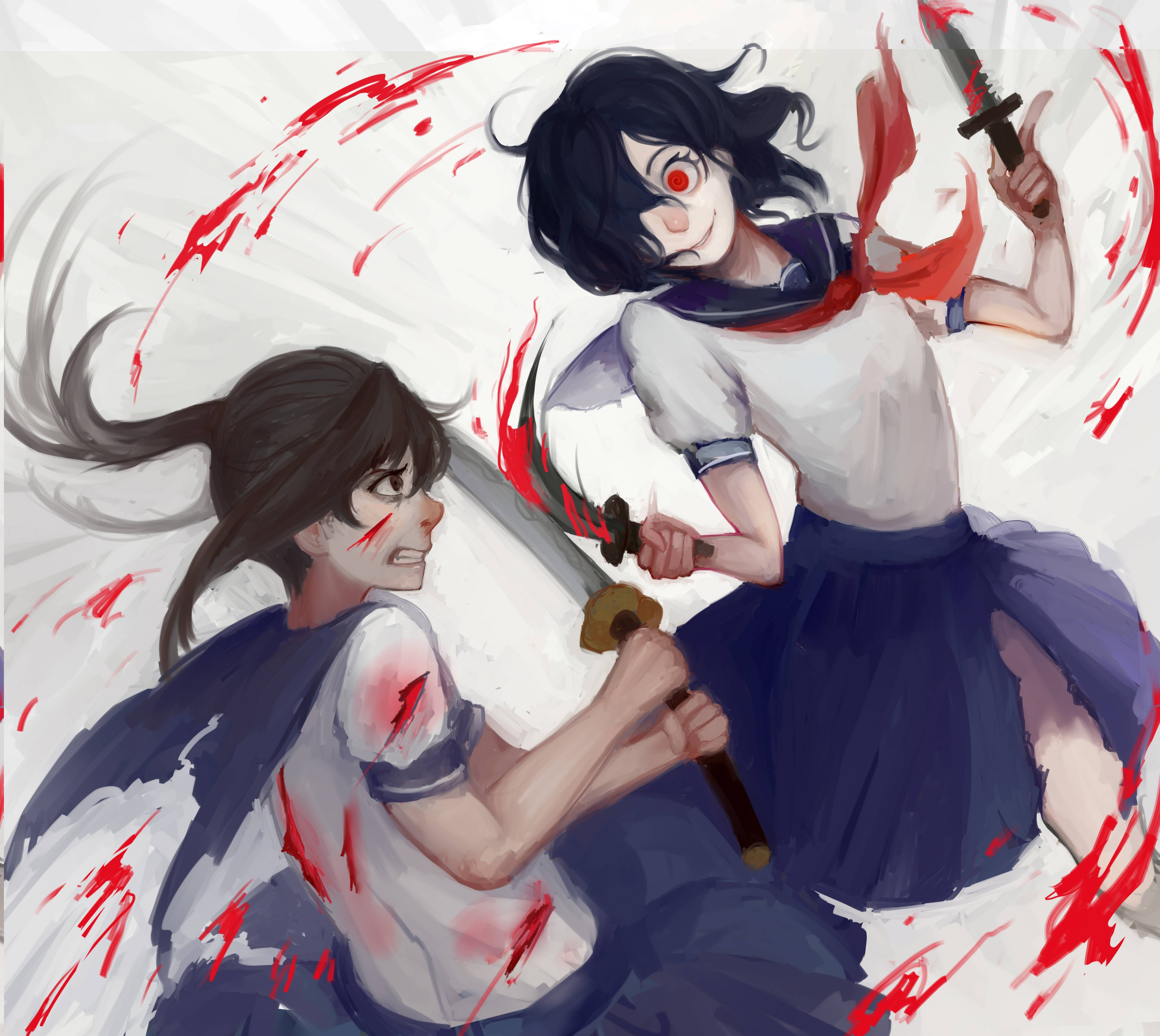 Game development blog yandere classmates anime pinterest nice - I M Guessing This Is A Fanart For Yandere Simulator