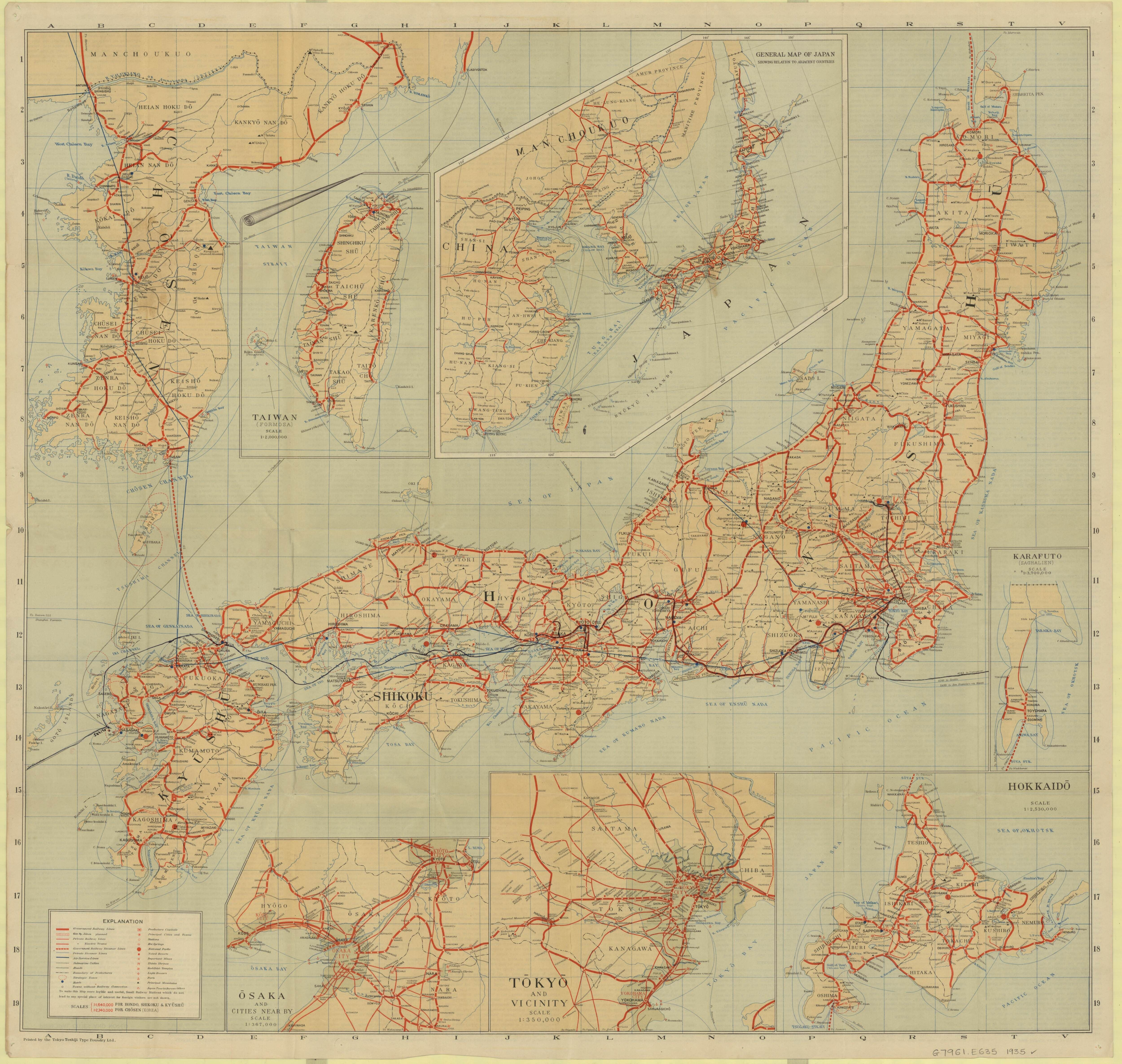1935 Travelers' map of Japan : including Chosen (Korea) and Taiwan on map of cuban missile crisis, map of pre world war 1, map of afghan war, map of world war 11, map of u.s. civil war, map of great war, map of nigerian civil war, map of vietnam war, map of world war i, map of gulf war, map of korean peninsula, map of berlin blockade, map of detente, map of islamic war, map of pacific war, map of korea, map of indian war, map of first indochina war, map of air force, map of asia,