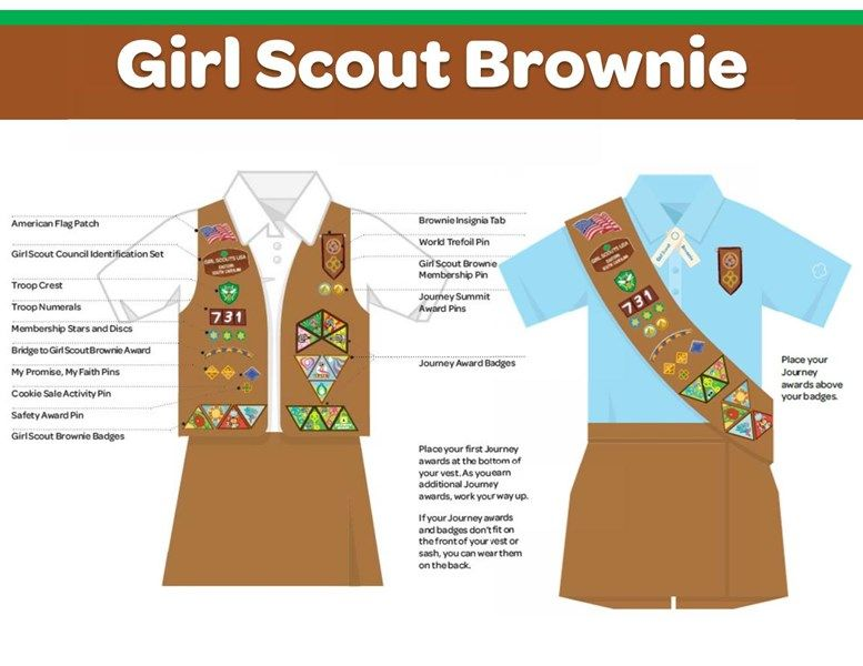 Brownie Uniforms | Pewaukee Brownies & Daisies