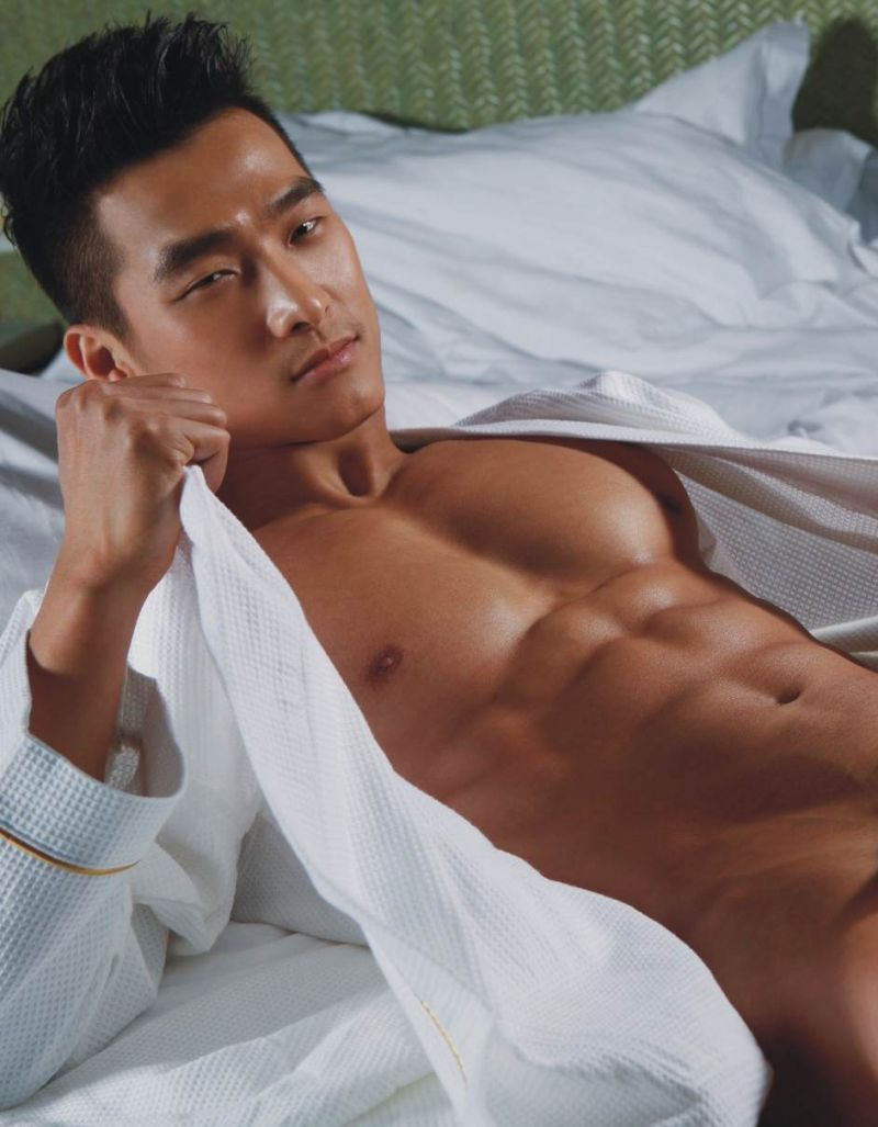 Sexy asian man nude