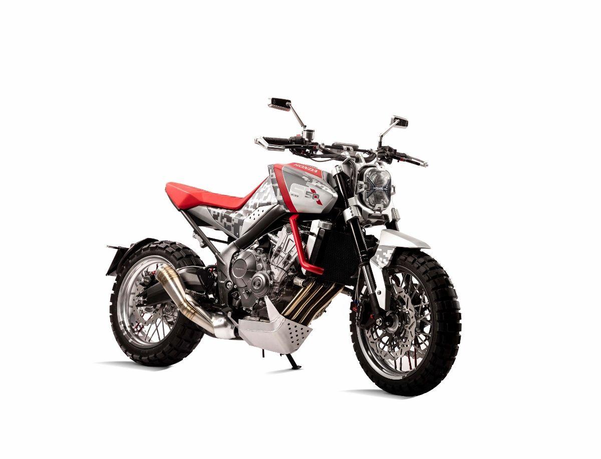 Honda Concept Scrambler Dual Sport Motorcycle For 2017
