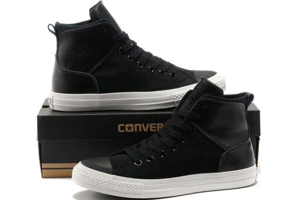 b0810609033c New Stars Leather Converse Chuck Taylor All Star City Lights Black High  Tops Canvas Sneakers  S5020201  -  58.00   Discount Converse All Star  Sneakers Sale ...