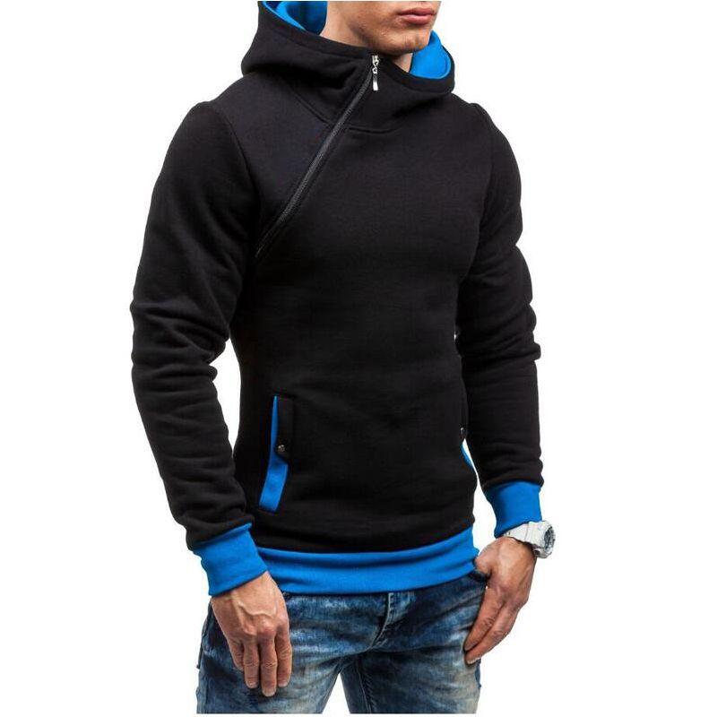 Men Hoodies Zipper Type Slim Fit 001 Slim fit hoodie