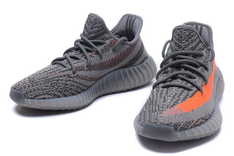 Adidas Yeezy Boost 350 V2 Shoes Gray Orange 1826
