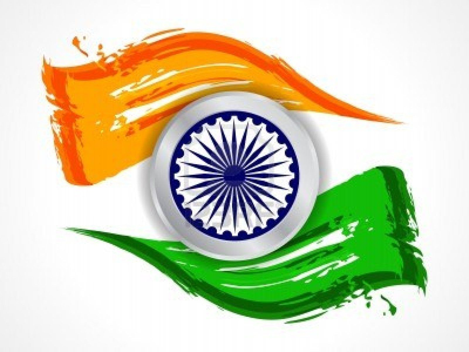 India Flag Colors: Indian Flag Wallpaper Background