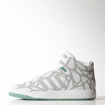 detailed look a3c38 64184 adidas veritas mid shoes 12 clear onix  adidas  shoes  covetme. Zapatillas  AdidasAdidas NegrasZapatillas BlancasEstilo ...