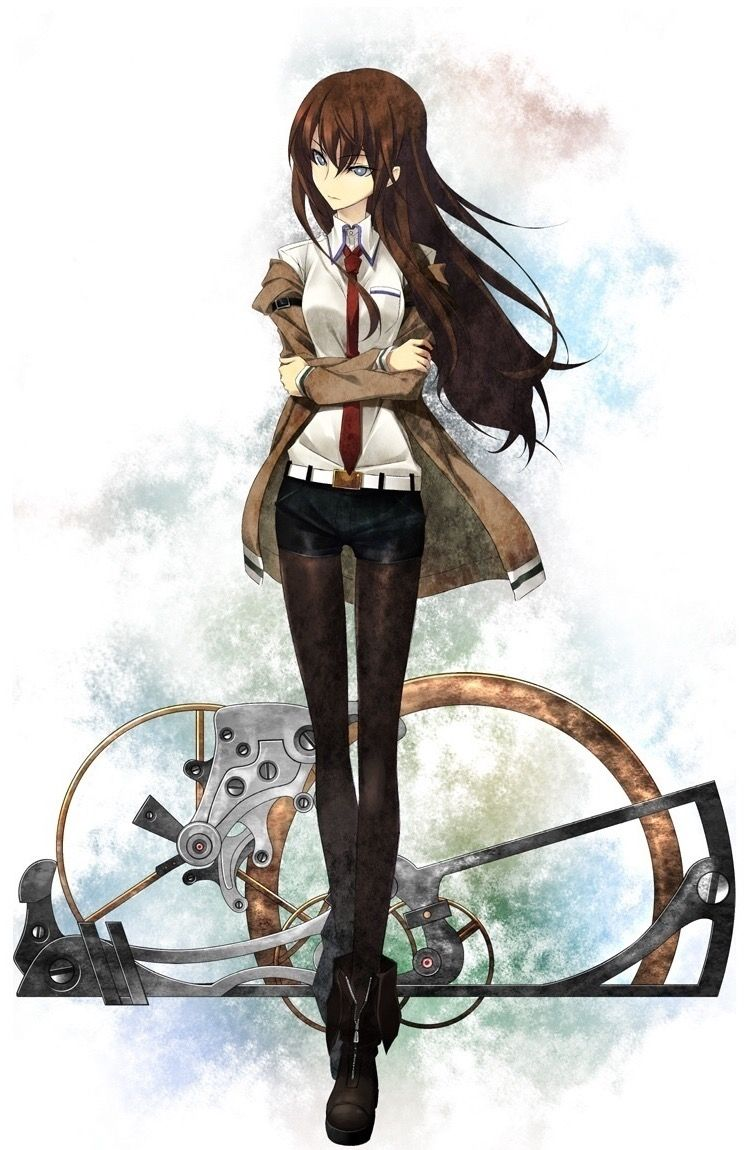 Makise Kurisu Steins Gate Anime Steins Gate 0 Kurisu Makise