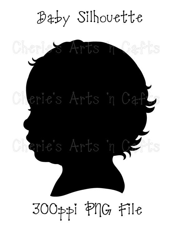 Instant Download Baby Silhouette Png Graphics Digital Etsy Baby Silhouette Book Silhouette Silhouette Png
