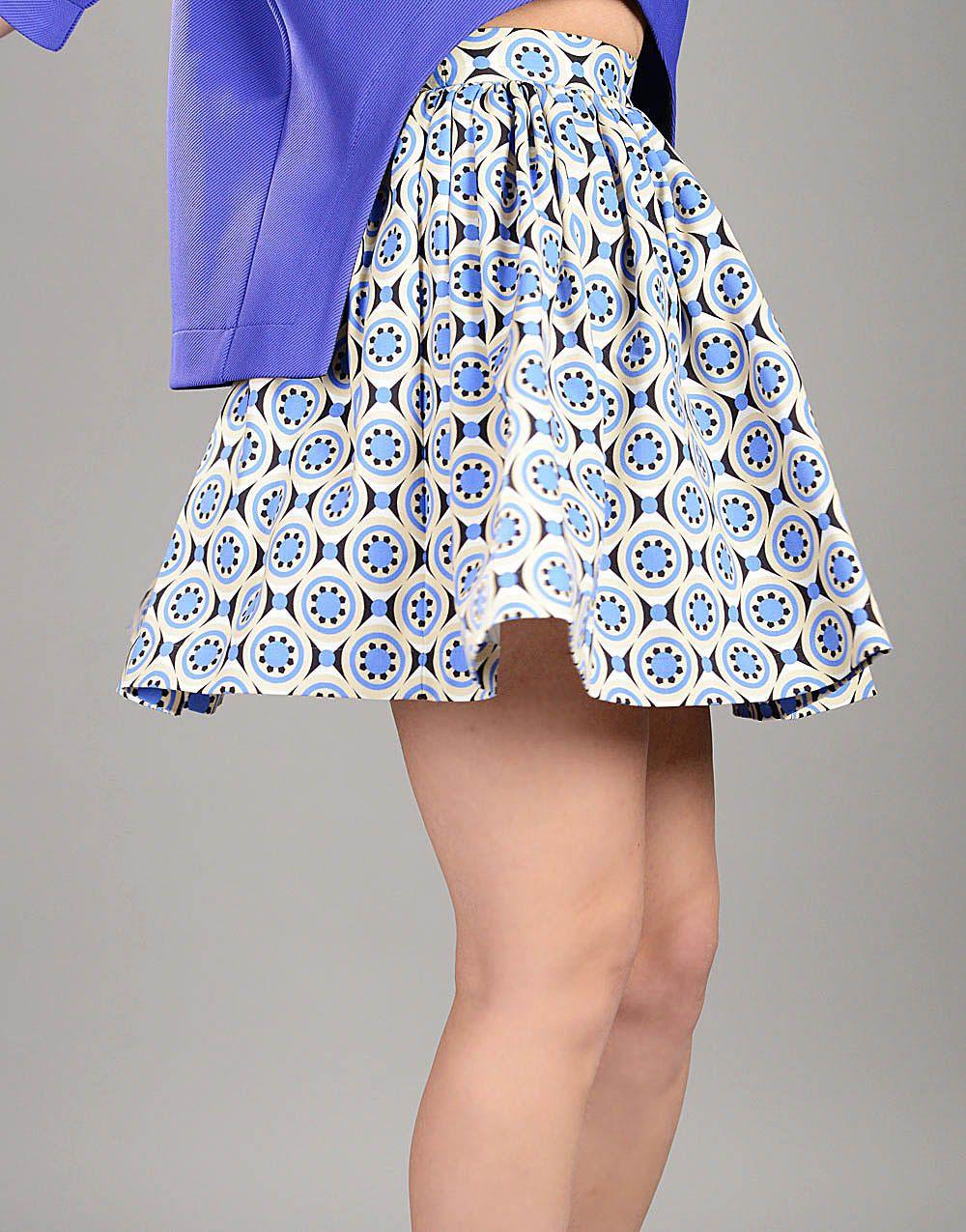 928a0bdff8fd Plus Size Mini Skirt, Pleated Skirt, Cute Skirt, Swing Skirt, Retro Skirt