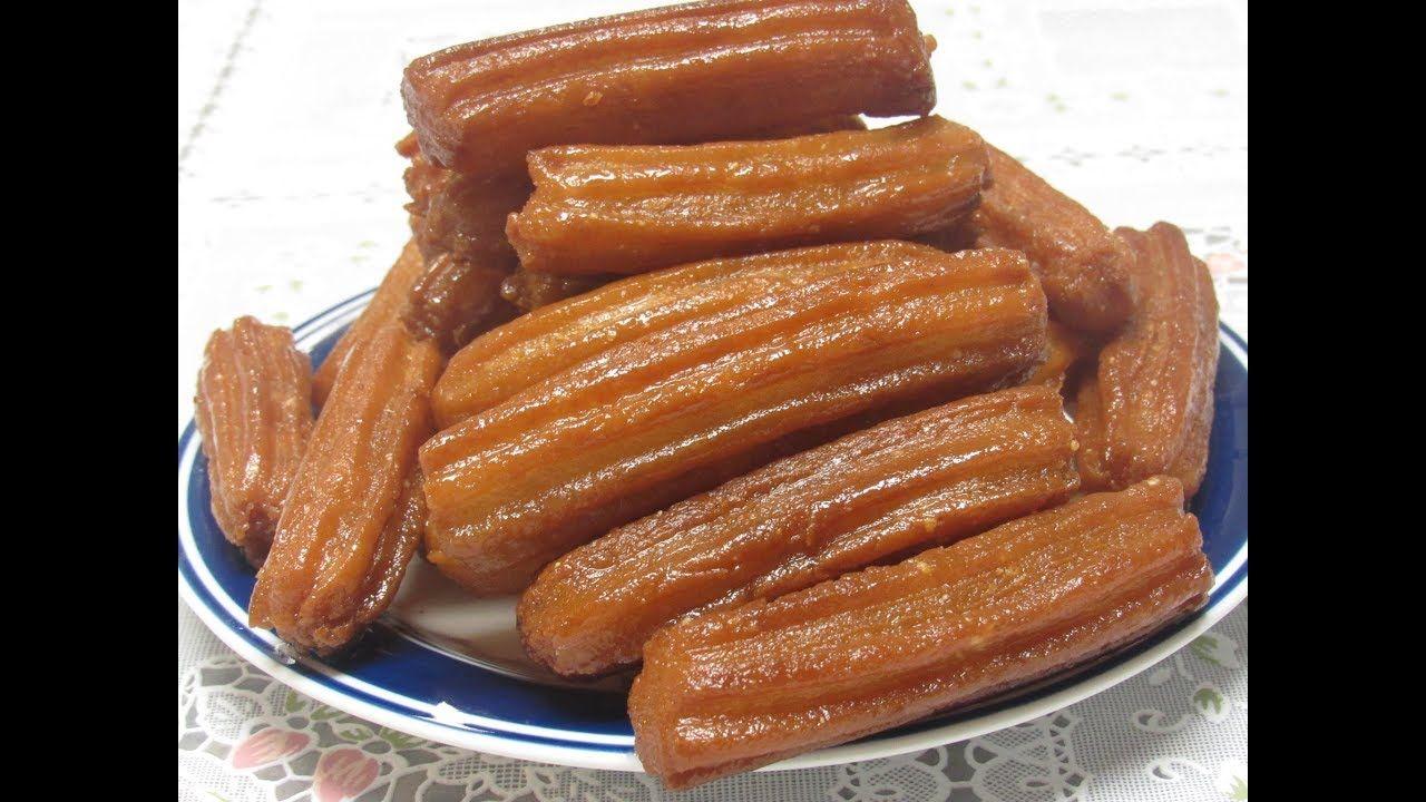 Datli داطلي اسهل طريقة لعمل الداطلي المقرمش بدون بيض بلح الشام Recipes Desserts Arabic Sweets