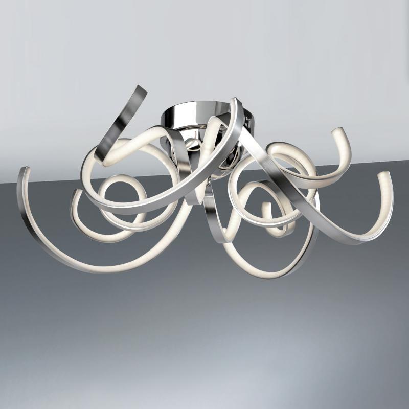 Sompex Weed LED Deckenleuchte Wohnzimmer - Lampe Pinterest - deckenleuchte led wohnzimmer