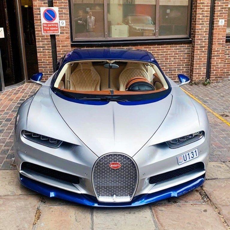 Bugatti Veyron Spoiler: Strong Bugatti Chiron Spec Spotted In London ? #cars247