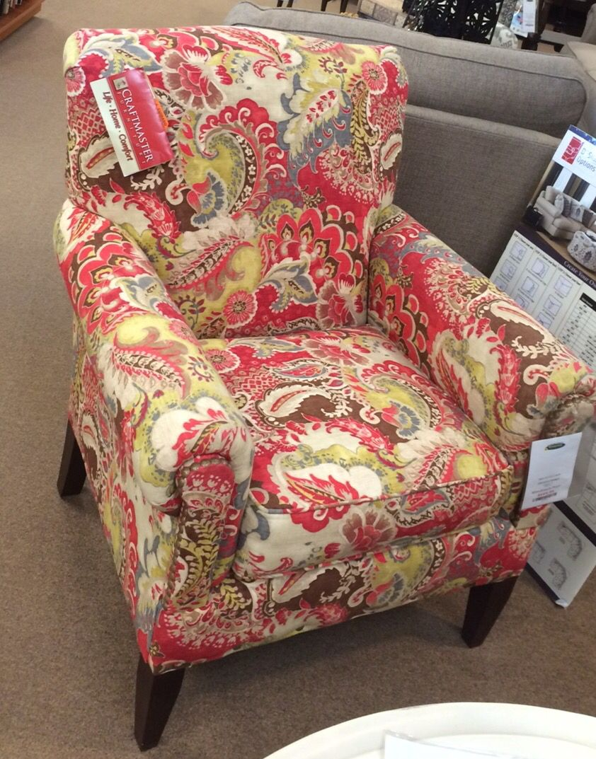 Love This Beautiful Colorful Accent Chair Colorful Accent