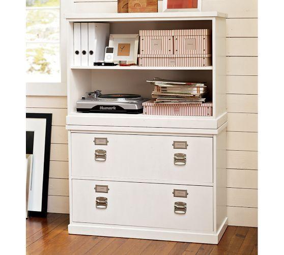 Bedford Lateral File Cabinet Pottery Barn 620 Bookcase Hutch