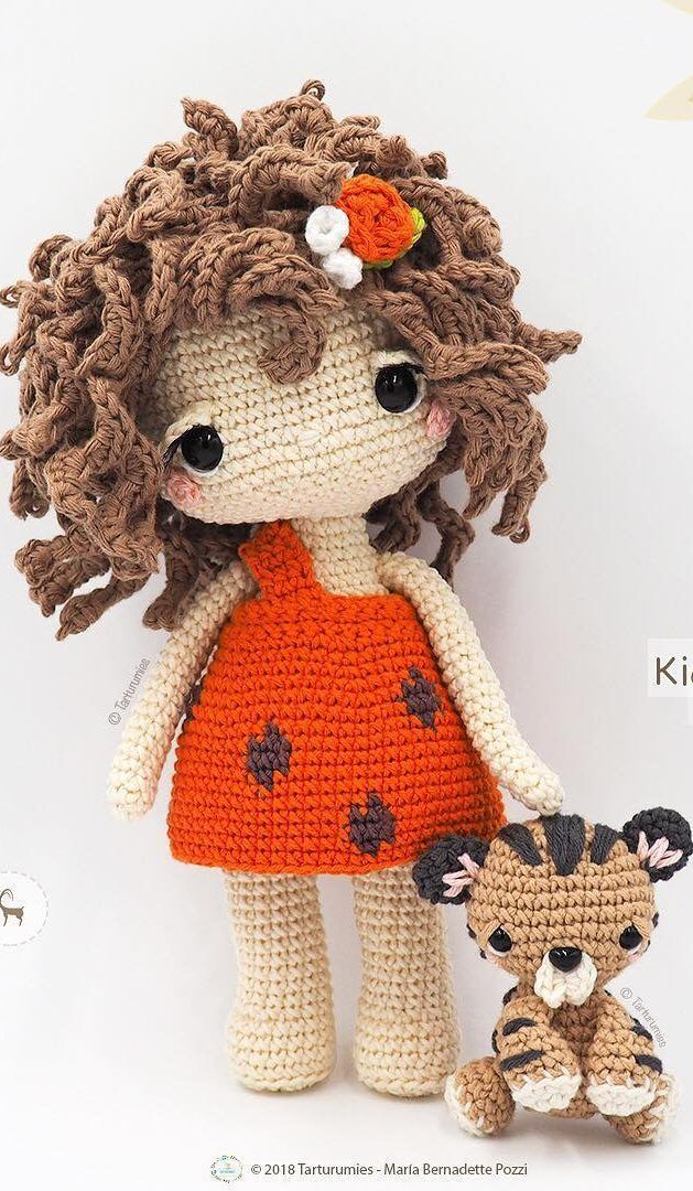 NEW AMIGURUMI CROCHET PATTERN Ideas and Images for Kids - Page 6 of 42 #muñecosdeganchillo