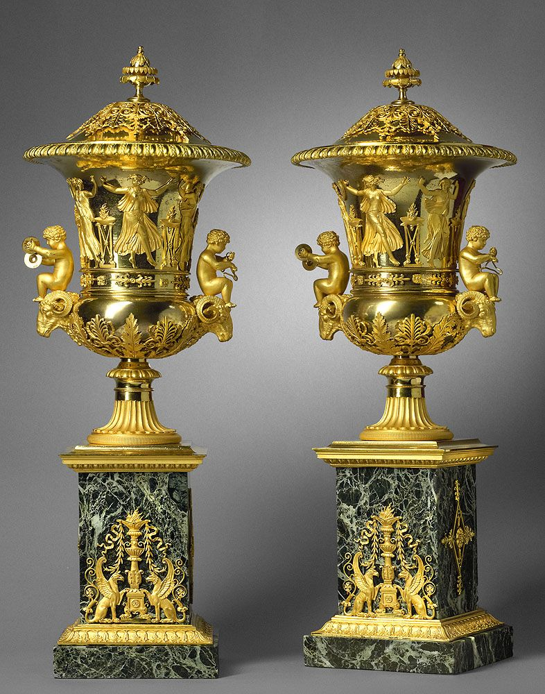 Shop For Cheap Rare Monumental White Marble Gilt Bronze Mounts Cassolette Urn Circa 1820 Antiques
