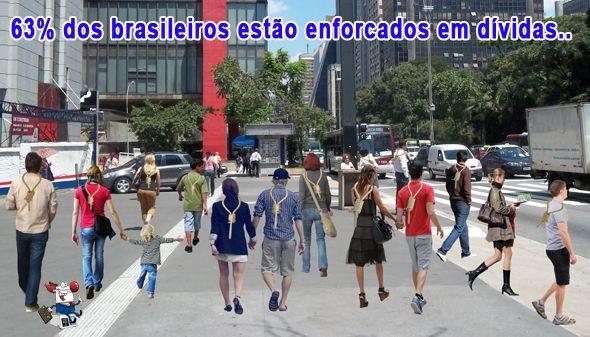 BRASILEIROS PASSAM FERIADO DE TIRADENTES COM A CORDA NO PESCOÇO…