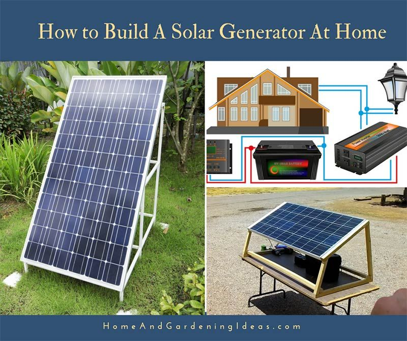 Are You Ready To Build A Cheap And Simple Solar Generator The Total Price For This Generator Is Less Than 600 Solar Panels Solar Generator Solar Power Energy