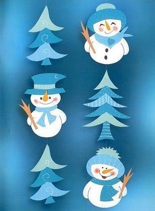 Fenster weihnachten fensterbilder weihnachten und schneemann - Fensterdeko weihnachten schule ...