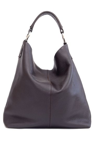 Manzoni Hobo Leather Bag | Women's handbags, Leather and Bags