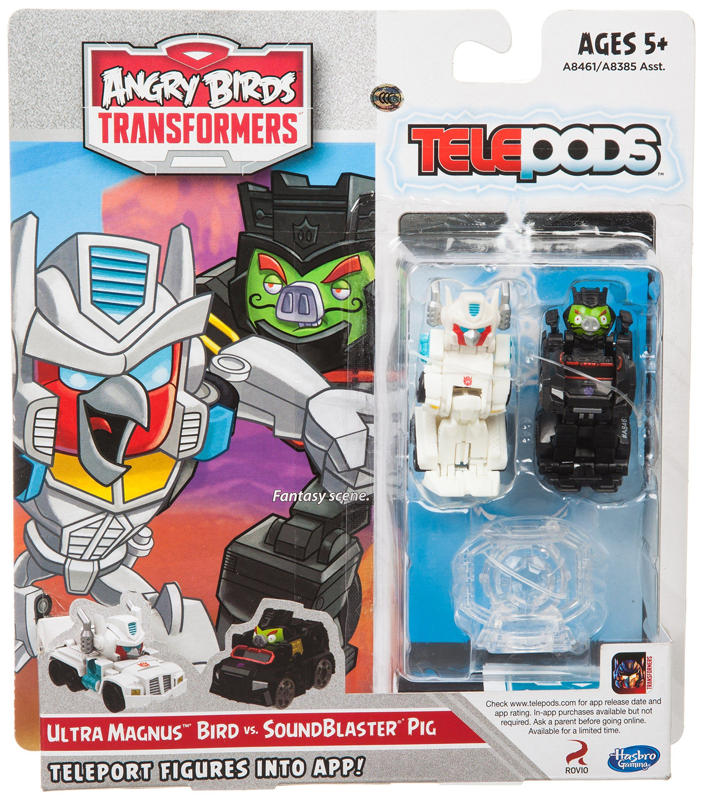 Amazon Com Angry Birds Transformers Telepods Ultra Magnus Bird Vs