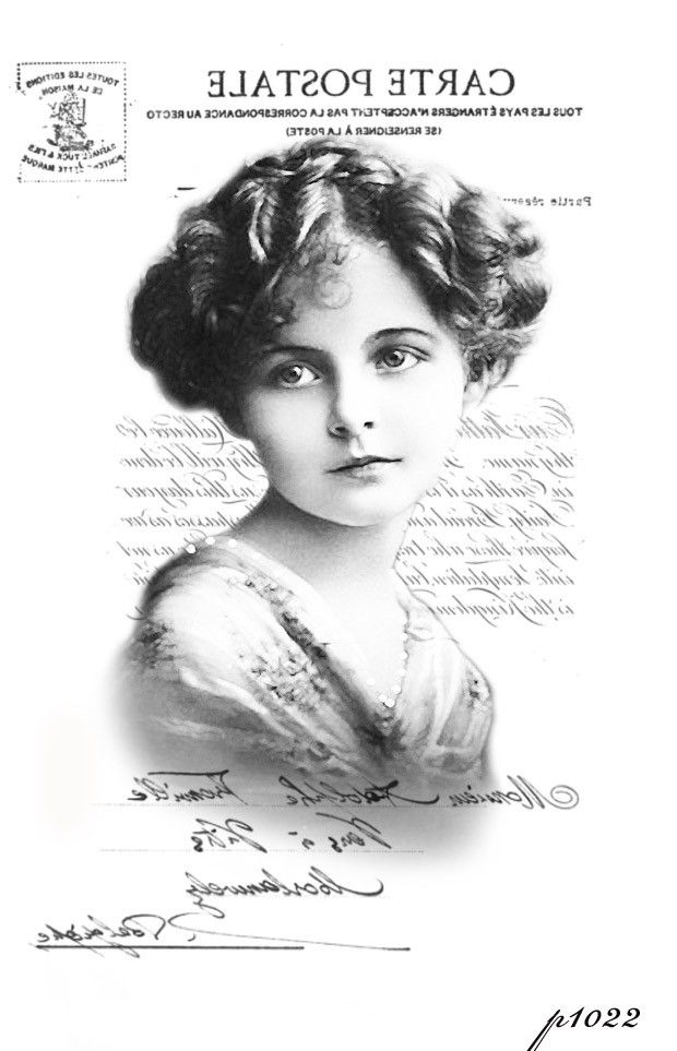 Vintage Girl Black And White Transfer Test Digital Collage P Free To Use