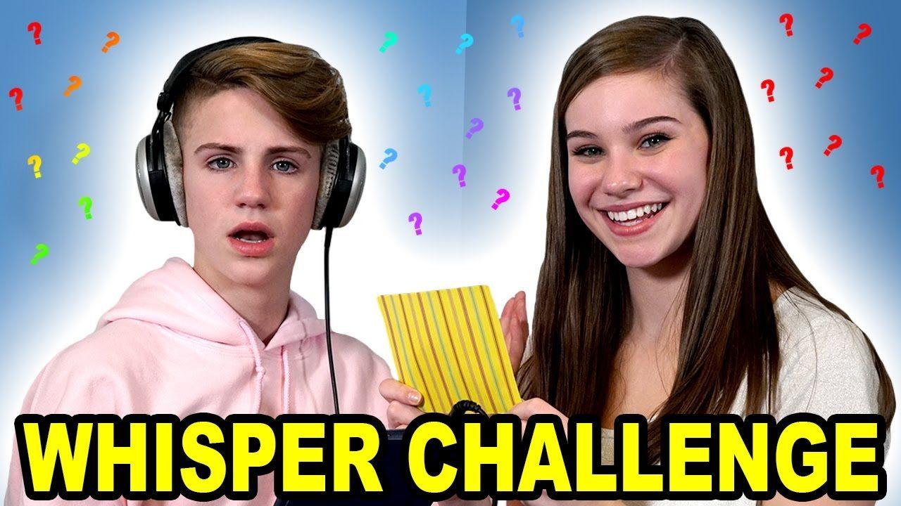 Whisper Challenge (few bad words) - YouTube   Youtube ...   Whisper Challenge Ideas