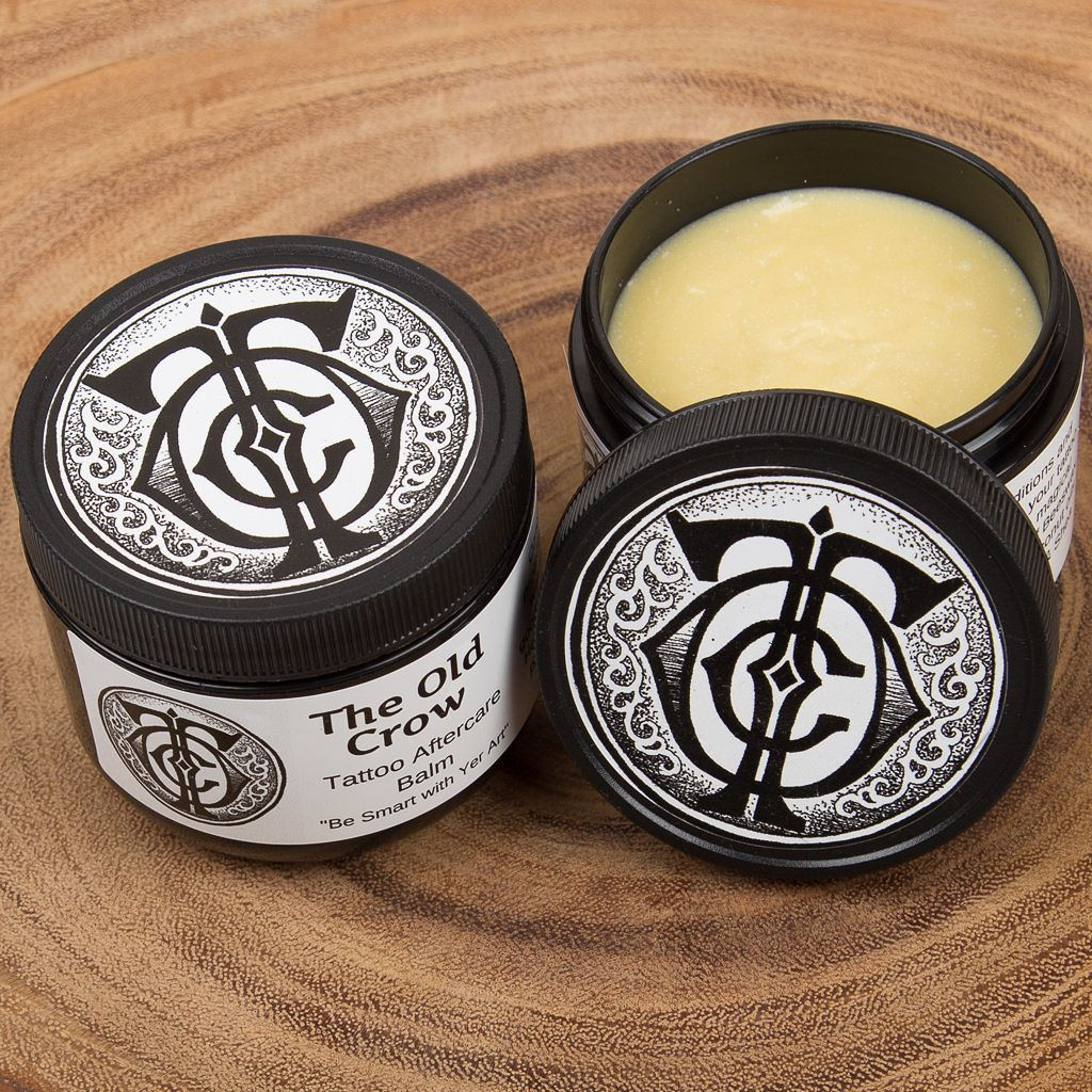 The Old Crow Tattoo Aftercare Balm Sourcing The Fewest Yet Most Effective Ingredients To Create An Incomparable Prod The Balm Tattoo Aftercare Old Crow Tattoo