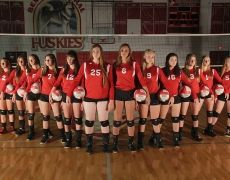 Volleyball Team Photo Serious And Tough Volleyball Team Pictures Team Photos Volleyball Team Photos