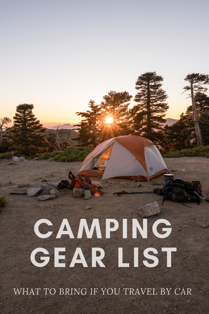 Photo of Camping Gear List: What to Bring If You Travel by Car | Looknwalk