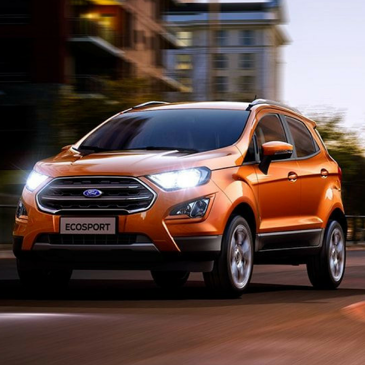Sportier Ford Ecosport S Sunproof To Introduce This Month Ford Ecosport Car Car Showroom
