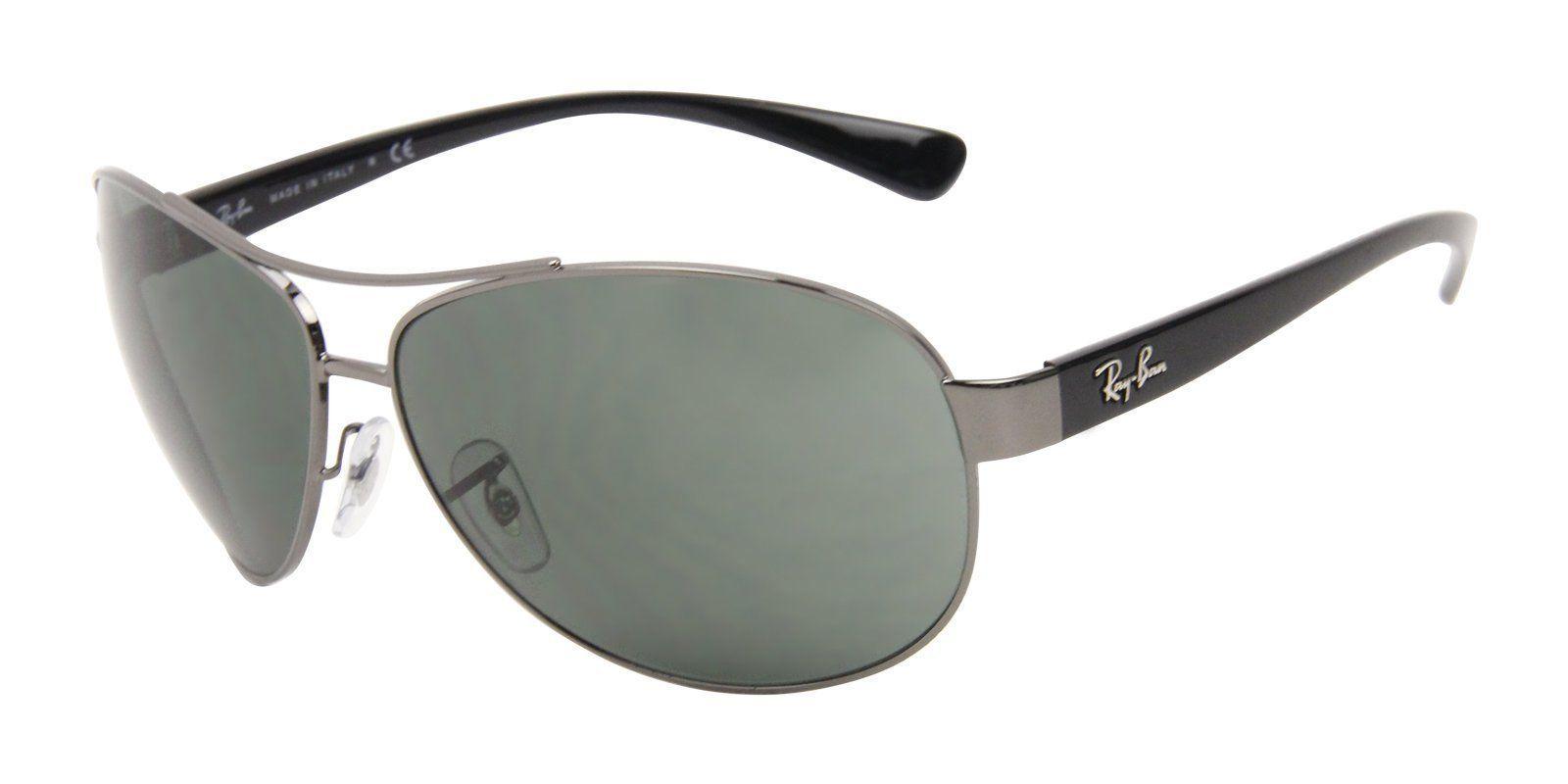 cd57448f63 Ray Ban - RB3386 Gray - Green-sunglasses-Designer Eyes