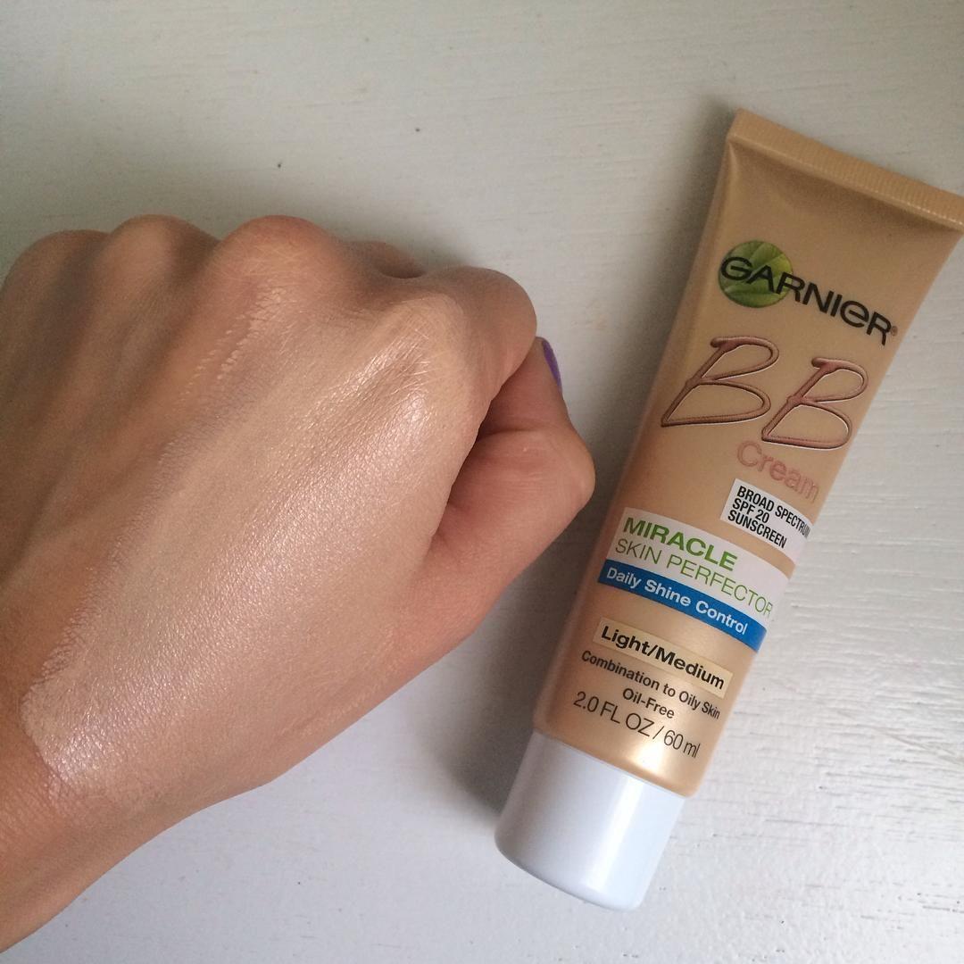 garnier bb cream miracle skin perfector medium
