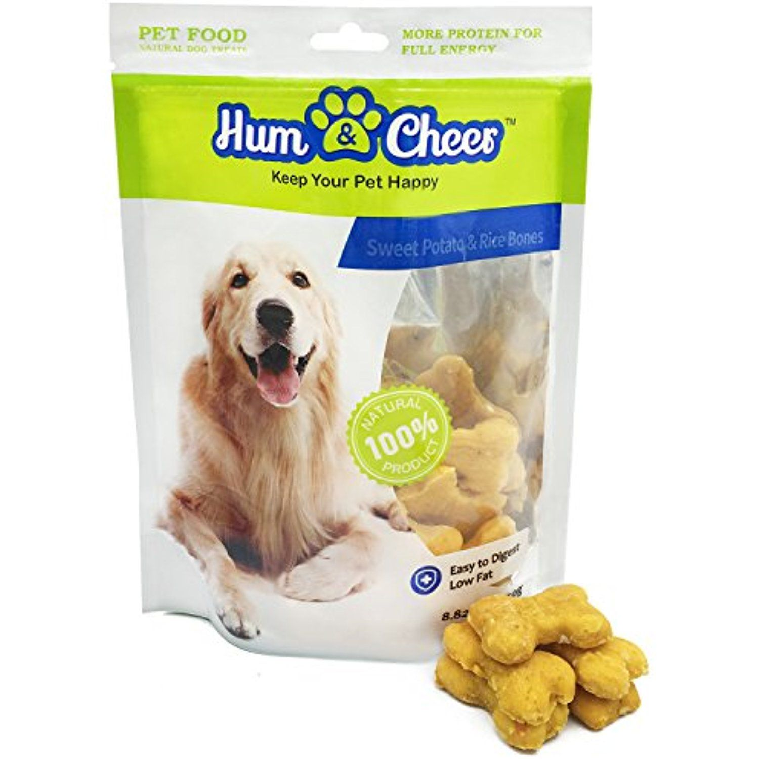 Hum Cheer Premium Dog Treats Sweet Potato Rice Bones For Dog